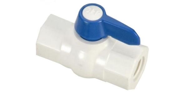 Plastik Küresel Vana RO Su Arıtma Cihazları İçin