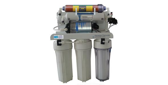 NCS TE-2PDI Tezgâh altı Su Arıtma + Deiyonize Saf Su Üretme Cihazı