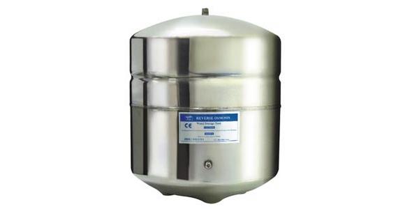 3,2 Galon NSF Onaylı Paslanmaz Çelik Su Arıtma Tankı