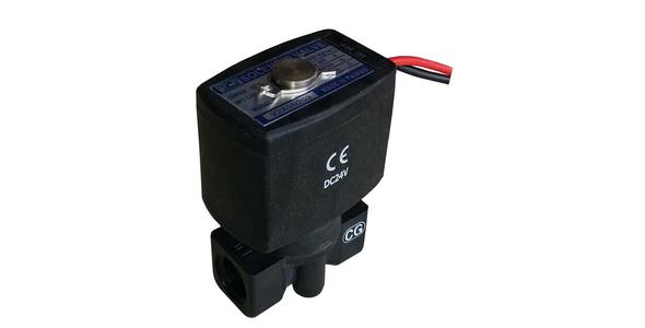RO Su Arıtma Cihazları İçin 24 Volt DC Siyah Selenoid Vana