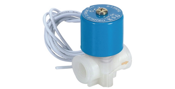 24 Volt Mavi Selenoid Vana RO Su Arıtma Cihazları İçin