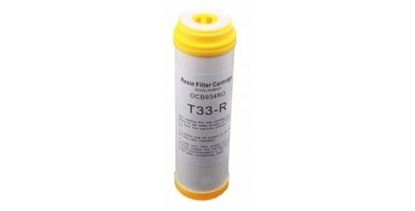 10 İnch T-33R Resin Filtre Su Yumuşatmak Ve Sertlik Gidermek İçin
