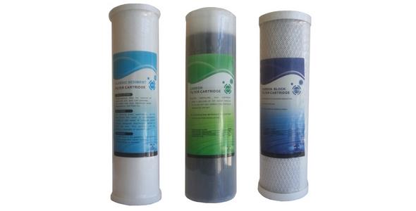 Su Arıtma Cihazı 3 lü Kartuş Filtre Takımı