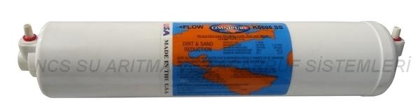 12 İnch İnline Omnipure USA K5605SS Sediment Filtre
