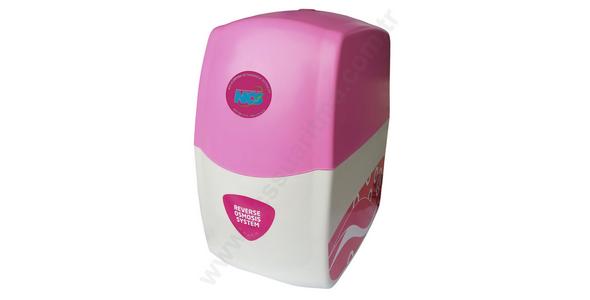 NCS Pink Sapphire RO Tezgahaltı Kabinli Pompasız Su Arıtma Cihazı