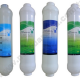 RO Su arıtma Cihazı 4 lü İnline Filtre Takımı